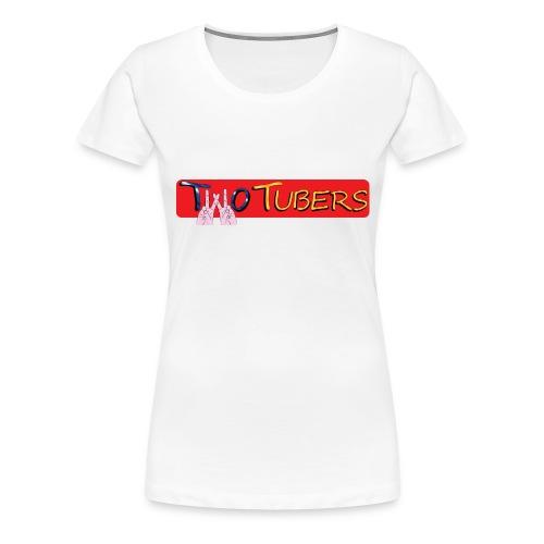 Orsetto TWOTUBERS - Maglietta Premium da donna