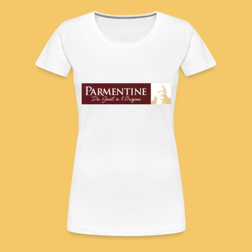 Logo parmentine jpg - T-shirt Premium Femme