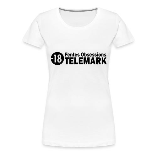 telemark fentes obsessions18 - T-shirt Premium Femme