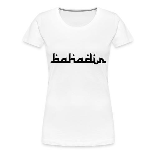 bahadir logo1 png - Frauen Premium T-Shirt
