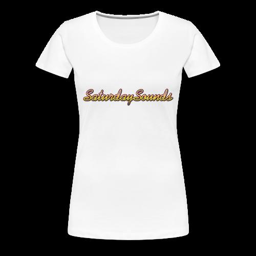SaturdaySounds Hoes voor lPhone 5/5s. - Vrouwen Premium T-shirt