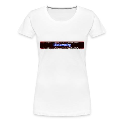 LikeLemming Banner - Frauen Premium T-Shirt