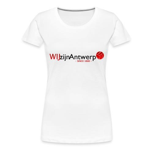 wza1880 - Vrouwen Premium T-shirt