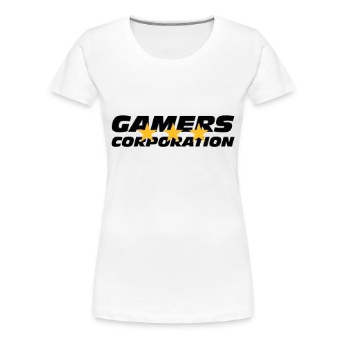 Gamers Corporation - T-shirt Premium Femme