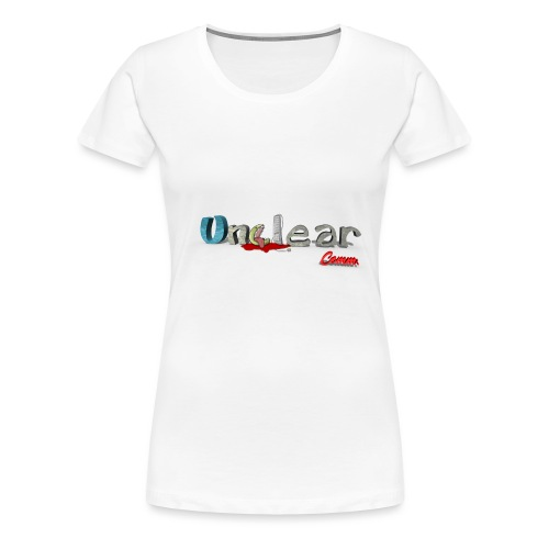 unclean comm transparent - T-shirt Premium Femme