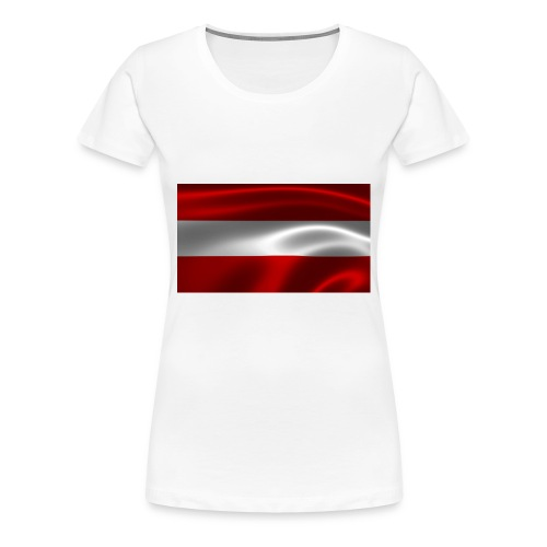Austria I Love Austria - Frauen Premium T-Shirt