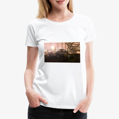 Sunset Drive - Frauen Premium T-Shirt