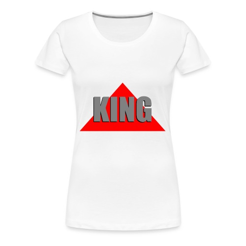 King, by SBDesigns - T-shirt Premium Femme