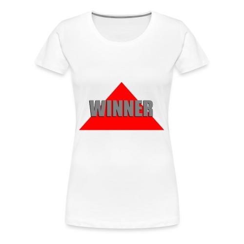 Winner, by SBDesigns - T-shirt Premium Femme