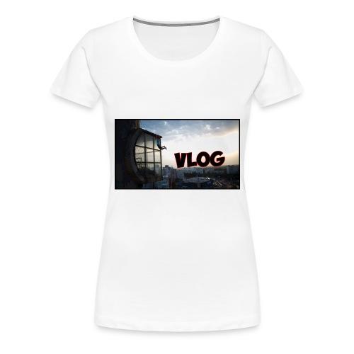 Vlog - Women's Premium T-Shirt