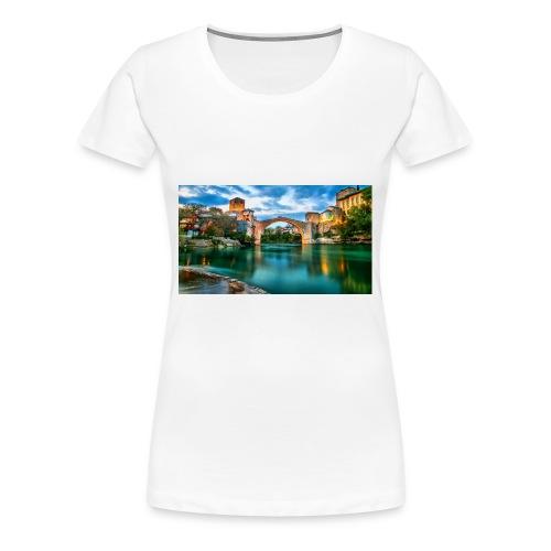 Mostar - Premium-T-shirt dam