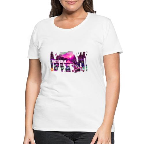amsterdam love - Vrouwen Premium T-shirt