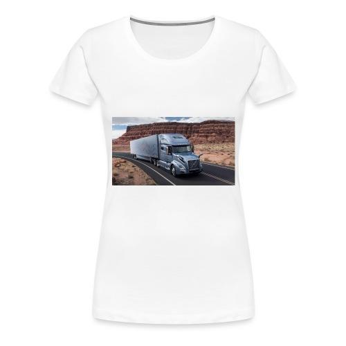 Truck - Frauen Premium T-Shirt