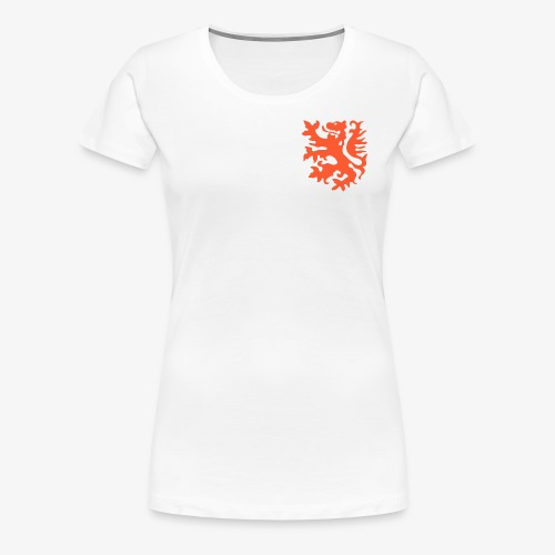 Orange lion Replica Holland 1974 - Women's Premium T-Shirt