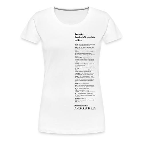 scrabblesm04 - Premium-T-shirt dam