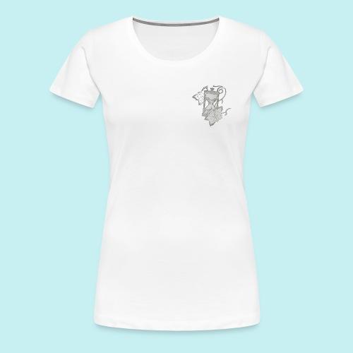 Le temps - T-shirt Premium Femme