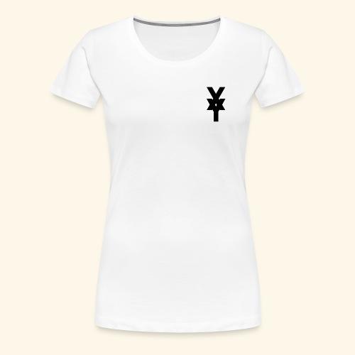 XY Logo In Black - Women's Premium T-Shirt