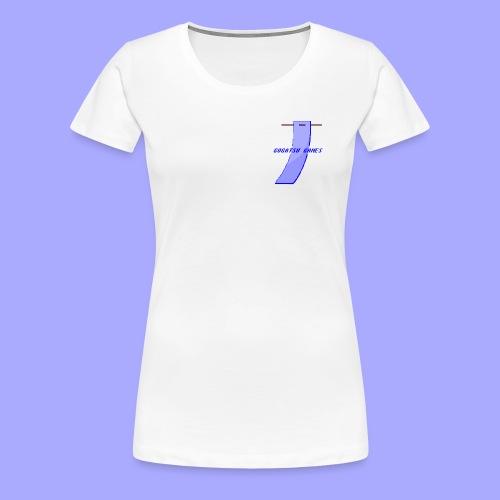 Gogatsu Games 8-bit - Dame premium T-shirt