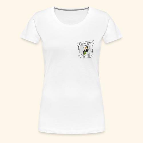 logo Zuster Evie - Vrouwen Premium T-shirt