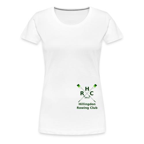 HRC Logo Brand Refresh Bitmap - Women's Premium T-Shirt