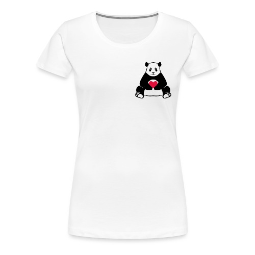 Panda Love - Women's Premium T-Shirt
