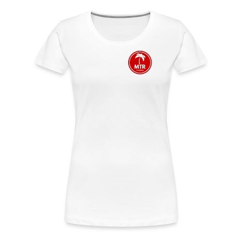 MTR Tennis RED - Women's Premium T-Shirt