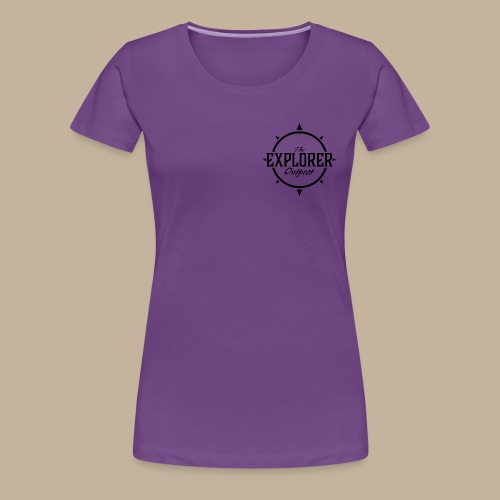 Black TEO Logo - Women's Premium T-Shirt