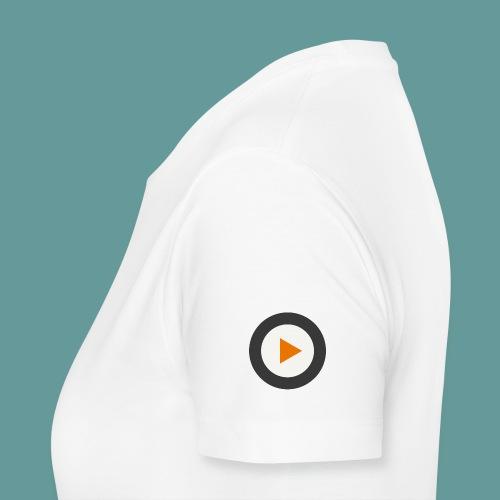 Projekt-Ohr bedruckte Vorder- und Rückseite - Frauen Premium T-Shirt