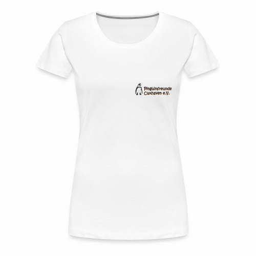 Logo_Transparent_gross - Frauen Premium T-Shirt