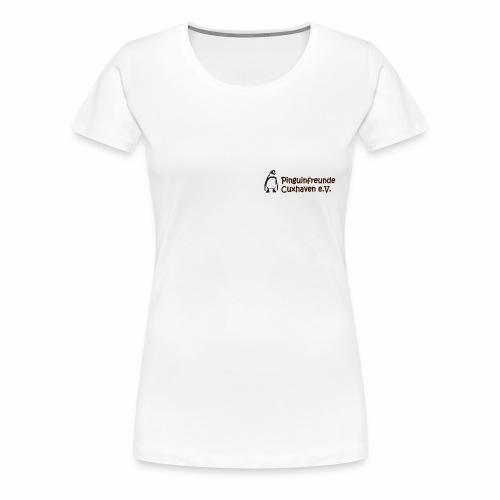 Logo_Transparent_gross - Frauen Premium T-Shirt
