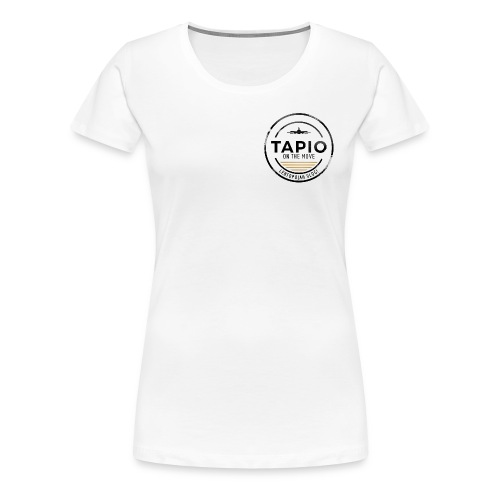Tapio on the move - Naisten premium t-paita
