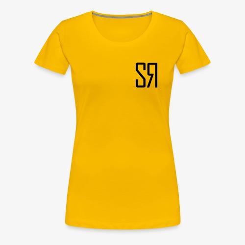 Black Badge (No Background) - Women's Premium T-Shirt