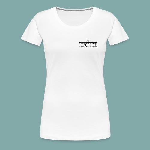 The Herobrine-Logo Flat - Women's Premium T-Shirt