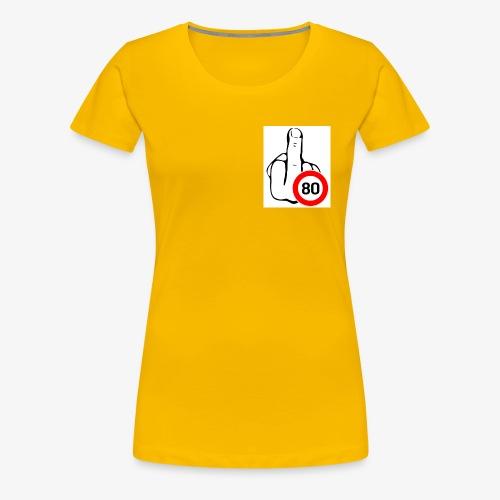 Doigt Coeur - T-shirt Premium Femme