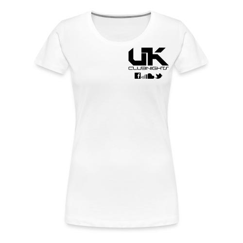 Logo Icons Black png - Women's Premium T-Shirt