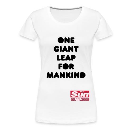 One Giant Leap 2 - Women's Premium T-Shirt