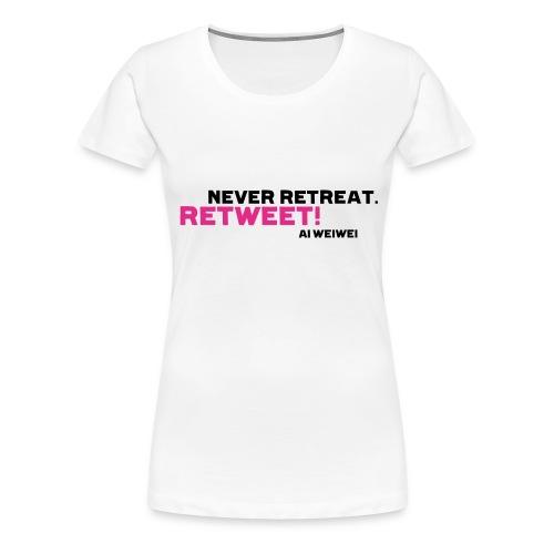 shirt 8 b - Frauen Premium T-Shirt