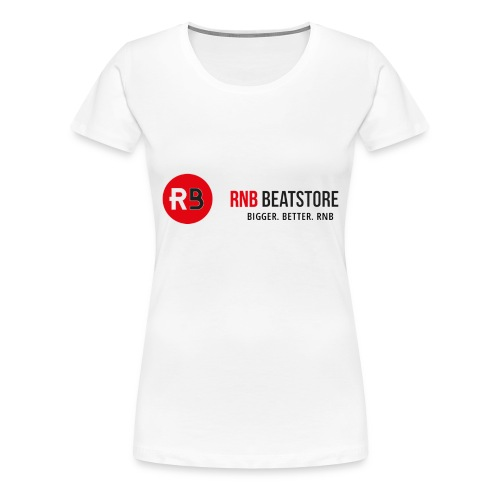 RNBBeatstore Shop - Vrouwen Premium T-shirt