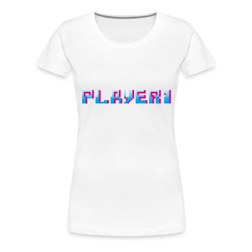 Arcade Game - Player 1 - Women's Premium T-Shirt