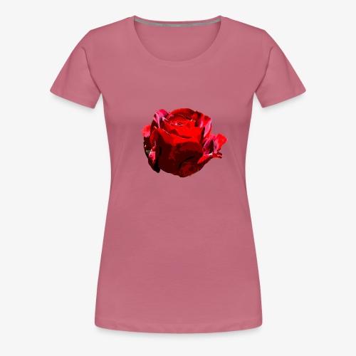 Red Rose - Frauen Premium T-Shirt