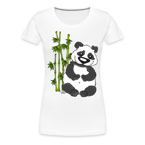 Panda Pao Pao - Frauen Premium T-Shirt