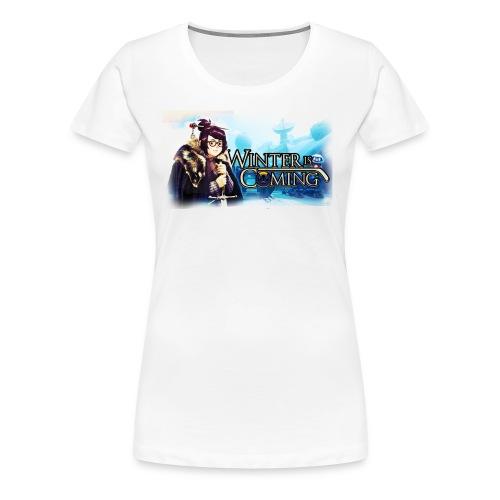 Overwatch and GameOfThrones Fusion - Women's Premium T-Shirt
