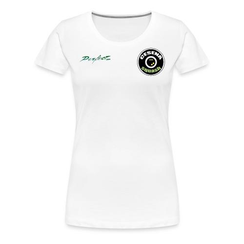 Stemma Cesena Squash - Maglietta Premium da donna