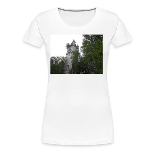 Chateau De Noisy - Premium-T-shirt dam