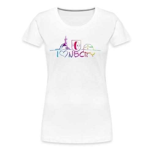 color Niederboesa - Frauen Premium T-Shirt