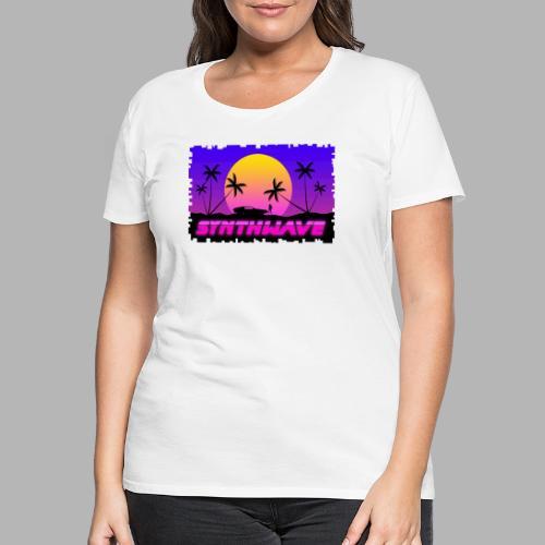 Synthwave - T-shirt Premium Femme