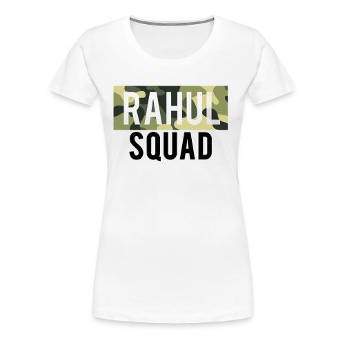 RahulSquad Official Camo T-Shirt - Women's Premium T-Shirt