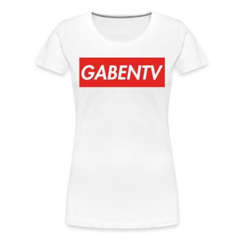 GabenTV Red - Dame premium T-shirt