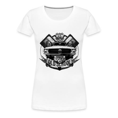 Old school - T-shirt Premium Femme