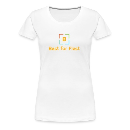Best for Flest logo - Premium T-skjorte for kvinner